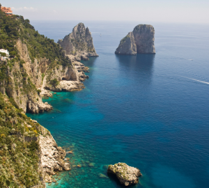 Luxury Yacht Charter Vacations around the spectacular Amalfi Coast, Naples, Corsica and Ischia