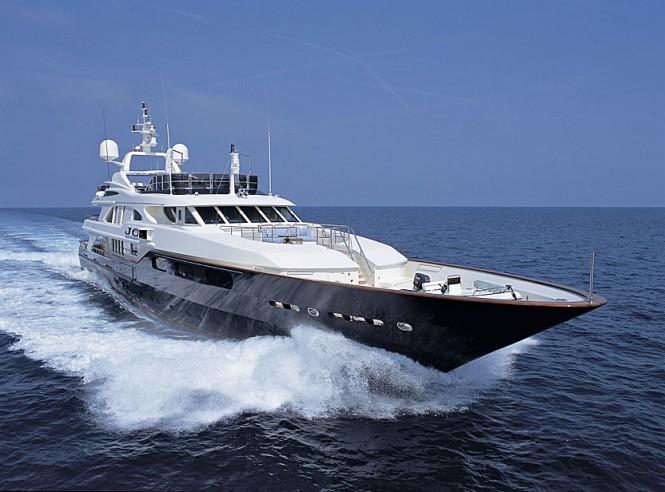 Benetti charter yacht JO