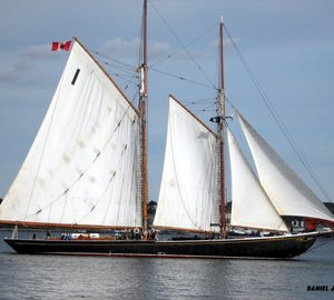 49m sailing yacht BLUENOSE II by Smith & Rhuland to be fitted with a new C12500 Capstan by Seaway Powell Marine