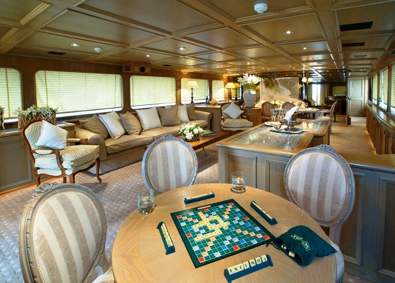 Daniella yacht - Salon