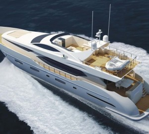 IAG Yachts sold the first 100ft superyacht launched in China - motor yacht Electra