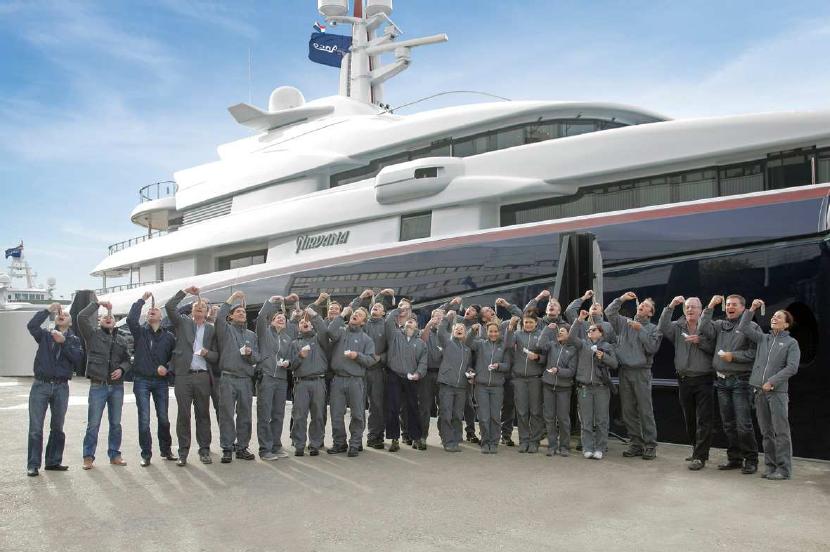 Luxury yacht NIRVANA by Oceanco