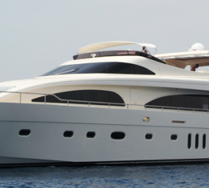 Cruise the Eastern Mediterranean in style aboard luxury charter yacht M&M