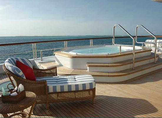 Motor Yacht Polar Star - Outdoor Spa Pool Spa Pool