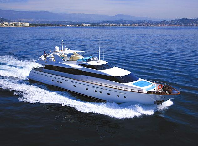 Motor yacht Powdermonkey