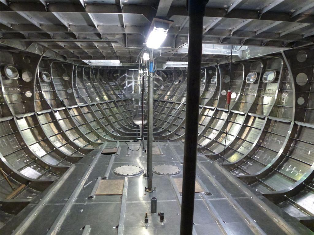 Mulder 98 Flybridge superyacht under construction — Yacht Charter & Superyacht News