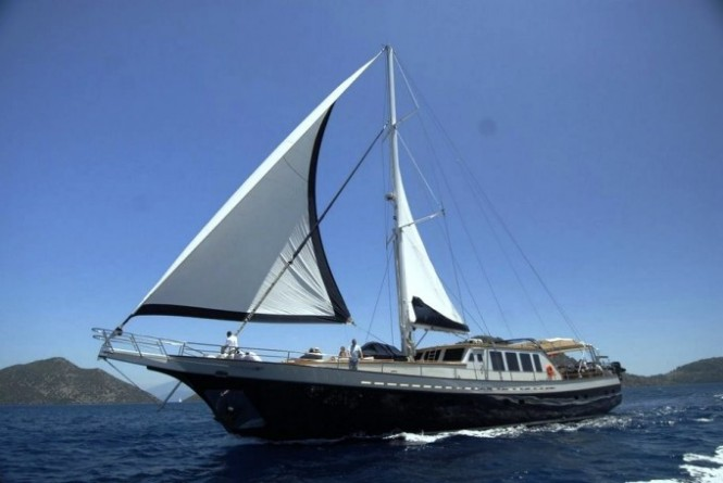 SEA COMET luxury gulet for charter in the Eastern Mediterranean
