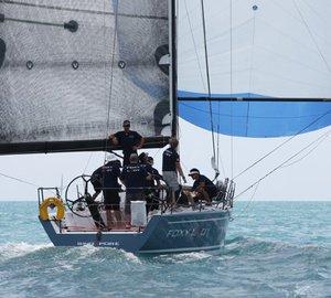 2012 Samui Regatta: Day 3 - Sailing yacht Foxy Lady 6 leads