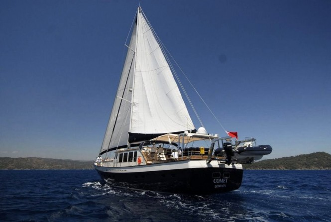 Sailing yacht SEA COMET -  Cruising