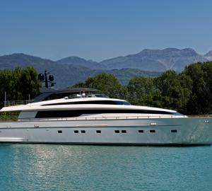 Sanlorenzo launch 33m motor yacht REGINE (SL108)