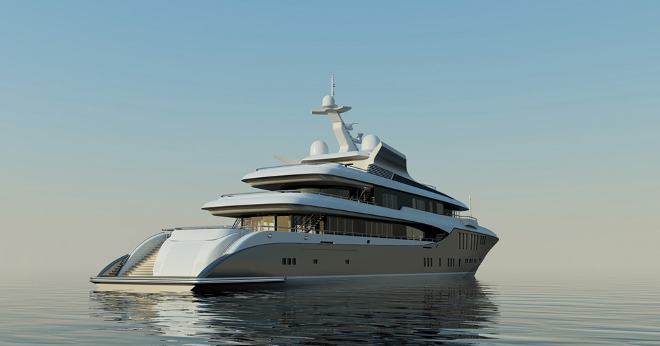 Attractive Sistership To The Project 422 Superyacht PLAN B U2013 The 73m Project 423 Yacht  With Exterior Design By Focus Yacht Design