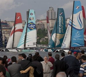 Extreme Sailing Series™ Act 3 in Istanbul to start in two weeks