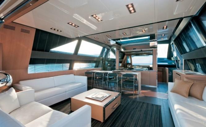 Super Yacht Rhino -  Salon
