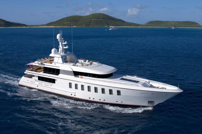 Superyacht Helix - the 5th F45 Vantage motor yacht by Feadship