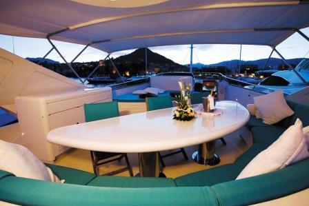 Superyacht Powdermonkey - Flybridge