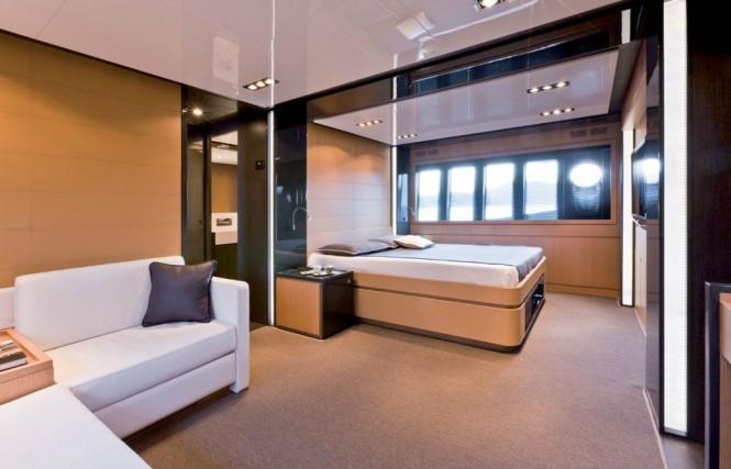 Western Mediterranean Charter Yacht Rhino -  Master Cabin 2