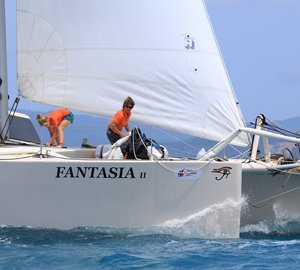 2012 Samui Regatta: Day 5 - Strong winds decide the places on final day