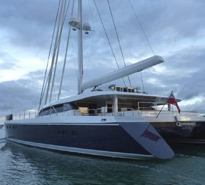 Sea trials for the 30.48m Yachting Developments superyacht Q5 Quintessential (hull YD66)