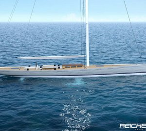 34.95m sailing yacht Project PROTOS concept by Reichel/Pugh Yacht Design