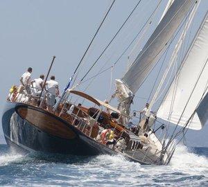 Superyacht Cup Palma 2012 Winner: 40m Royal Huisman charter yacht MARIA CATTIVA