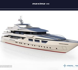 The new 45m motor yacht MAXIMA 45 by Admiral Tecnomar Group sold