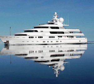 Debut of the newly refitted 71m charter yacht Titania (ex Apoise) by Lurssen
