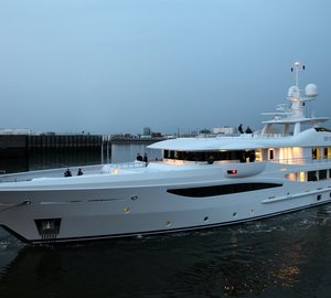 Amels LE180 motor yacht 4You (Project AAA) delivered
