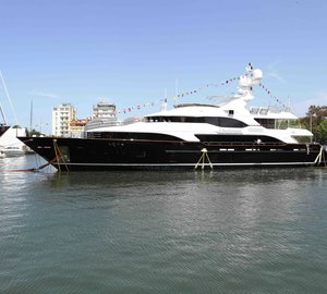 Benetti Vision 145' motor yacht CHECKMATE (hull BV018) successfully launched