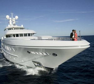 The exclusive iPad controlled mega yacht SOLEMATES for charter on the French Riviera