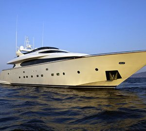 Charter special for 32m motor yacht MARNAYA in the Eastern Mediterranean