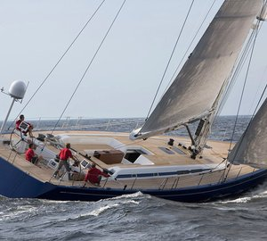 Nautor's Swan launched the first Swan 80S sailing yacht I AMSTERDAM