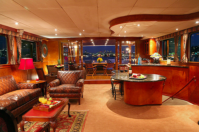 Luxury yacht KAYANA interior