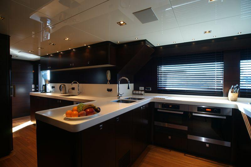 m superyacht galley  u2014 yacht charter  u0026 superyacht news
