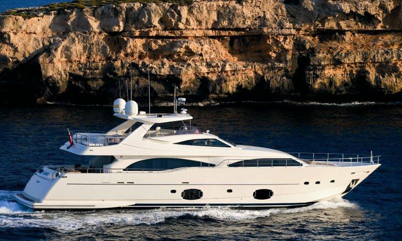 Motor yacht LADY CHATTERLEY - Profile