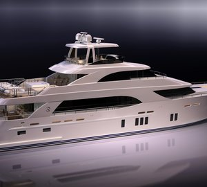 New 112' Tri-Level Motoryacht by Ocean Alexander with delivery in 2014