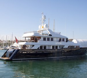 43m CMN motor yacht PARAMOUR refitted by PURE Superyacht Refit