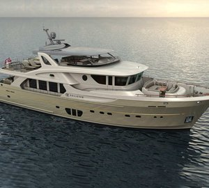 The first two Ocean Explorer series motor yachts Selene 92 by Selene Yachts in build