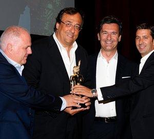 Sanlorenzo SL94 yacht winner of the Environmental Protection Award at the 2012 ShowBoats Design Awards