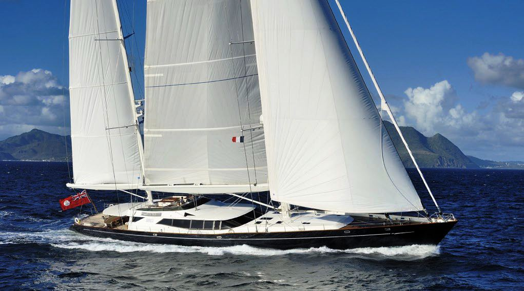 Sailing yacht DRUMBEAT