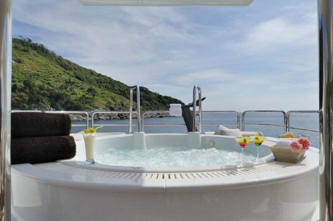 Spa Pool aboard superyacht Axioma