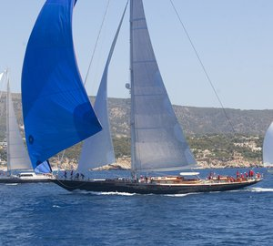 Superyacht Cup Palma 2012: Day 2 - A Story of Two Winds