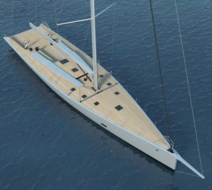 The newly launched 100ft WallyCento superyacht HAMILTON with naval architecture by Judel/Vrolijk