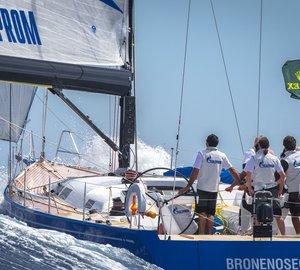 2012 Giraglia Rolex Cup: A great success of Bronenosec yacht continues