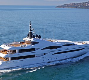 Luxury yacht VICKY (hull NB54) - Largest and latest Proteksan Turquoise yacht on sea trials