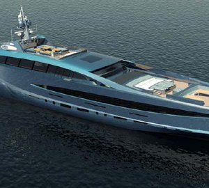 105m motor yacht SOVEREIGN - the largest superyacht design by Nedship