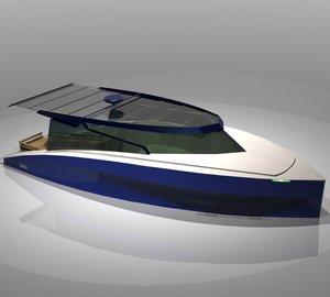 11m GALATA yacht tender by Aras Kazar Yacht Design