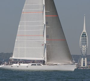 Superyacht Cup Cowes: Day 1 won by sailing yacht Unfurled