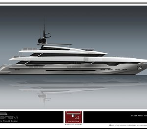 Another 49m Rossinavi motor yacht Prince Shark (hull FR028) signed