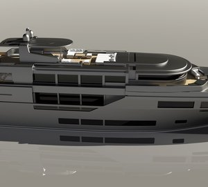 The new 54m motor yacht DISCOVERY designed by Bernardo Zuccon