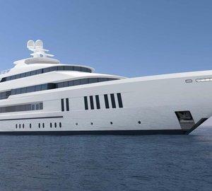 New 61m Hakvoort motor yacht hull YN248